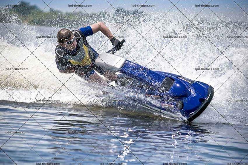Man on Jet Ski