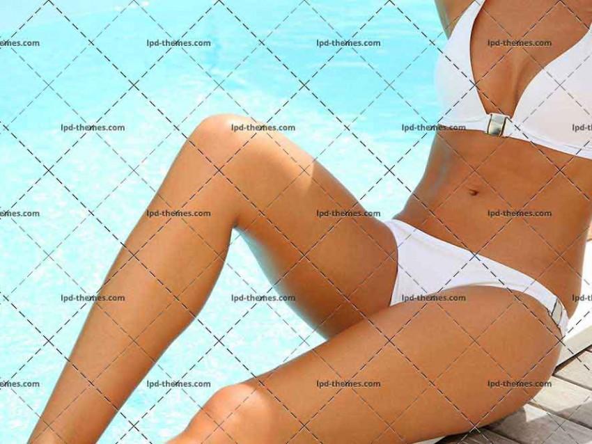 Closeup Of Woman's Body